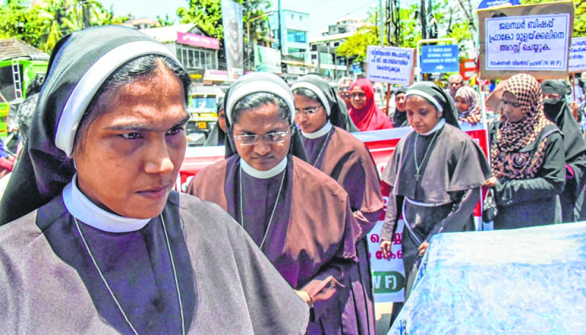 Nuns are at the bottom of pecking order