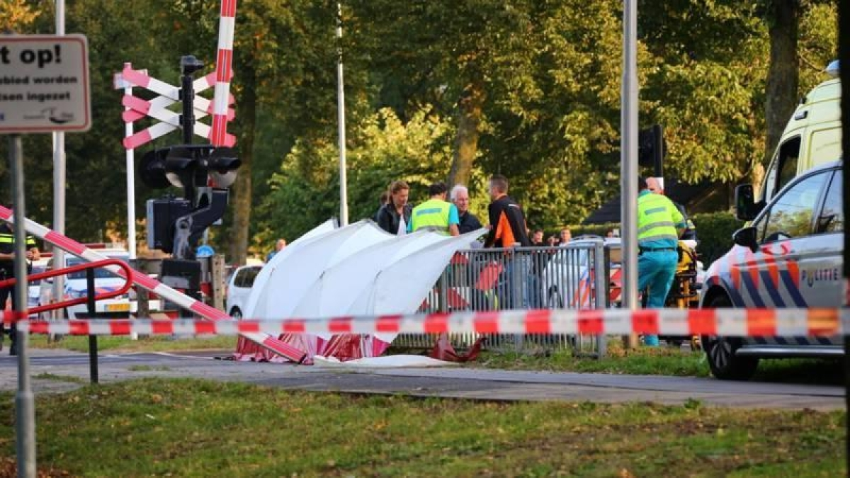 Four children killed as train hits cargo bike in Netherlands