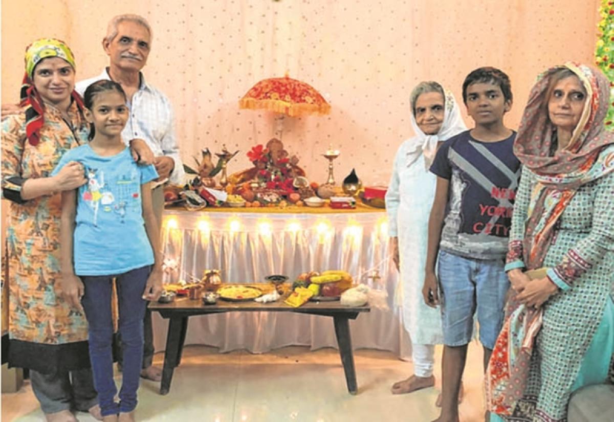 Ganesh Chaturthi 2018: Parsi family opts for eco-friendly Tree Ganesha