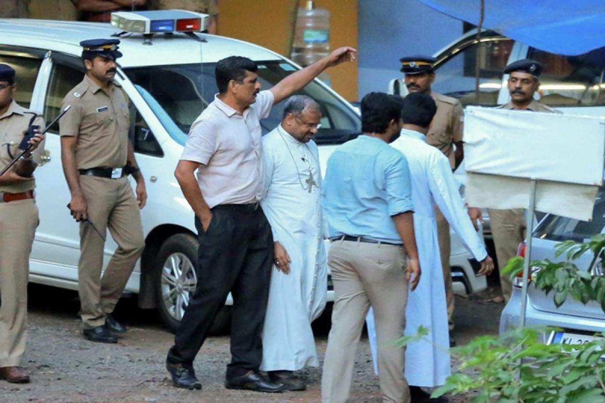 Kerala nun rape case: Police interrogates Bishop Franco Mulakkal for 2nd consecutive day
