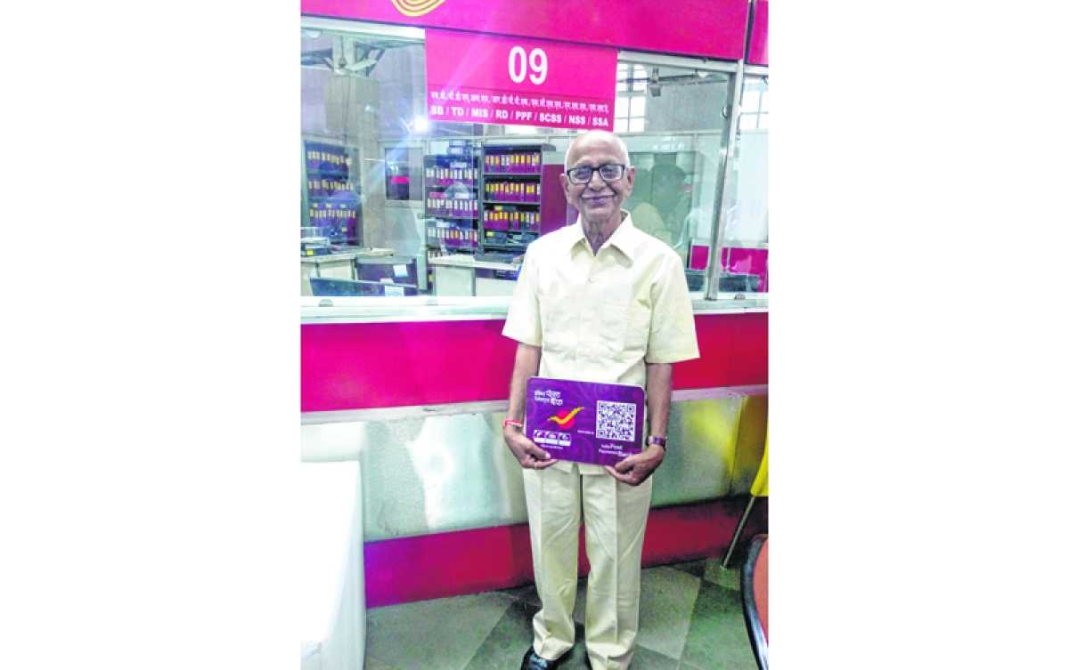 Palji Talji, 83, is state's first India Post bank a/c holder