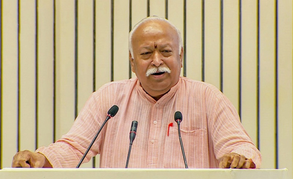 Bhagwat hints at constructing Ayodhya temple, says Ram's work has to be done