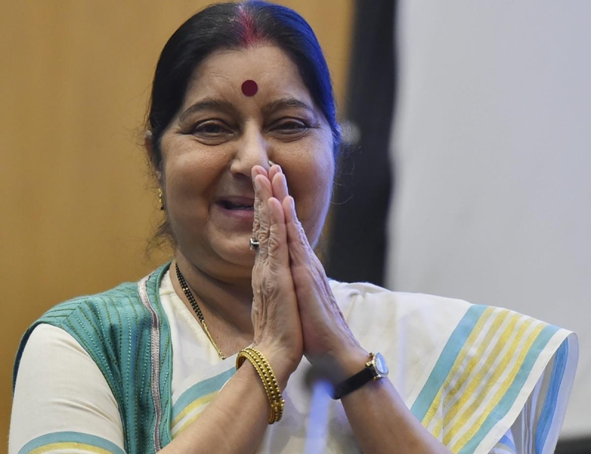 Migration of educated has brought laurels to India: Sushma Swaraj on Pravasi Bharatiya Divas