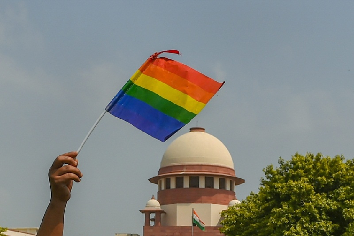 Pastor raises slogans in court against verdict on section 377, 'God has destroyed the cities which allowed homosexuality'
