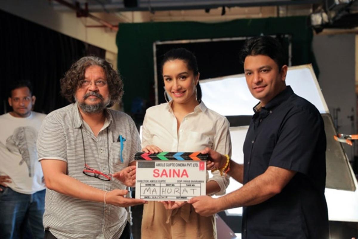 Shraddha Kapoor kick starts shooting of Amol Gupte's Saina Nehwal biopic; see pics