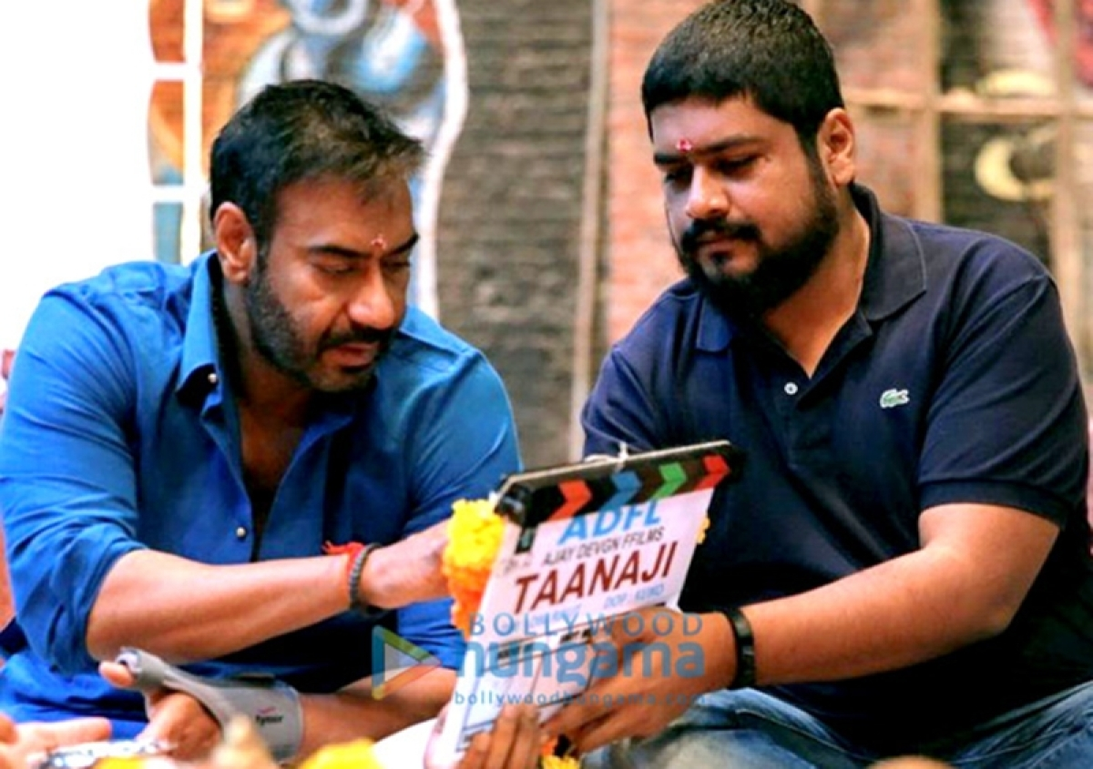 See pic: Ajay Devgn's shoot for 'Taanaji-The Unsung Warrior' goes on floor, to release on November 2019