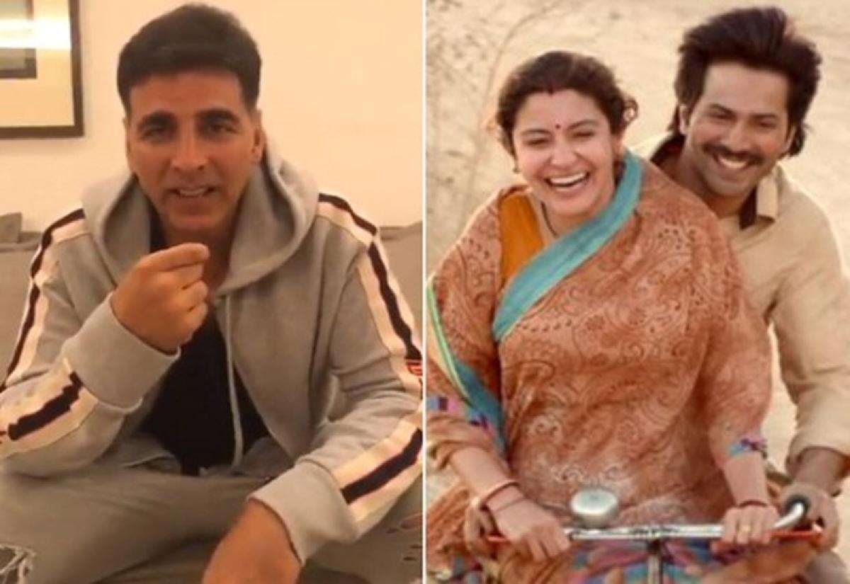 'Sui Dhaaga' Challenge: Akshay Kumar accepts task given by Varun Dhawan and Anushka Sharma but 'Khiladi' fails miserably; watch