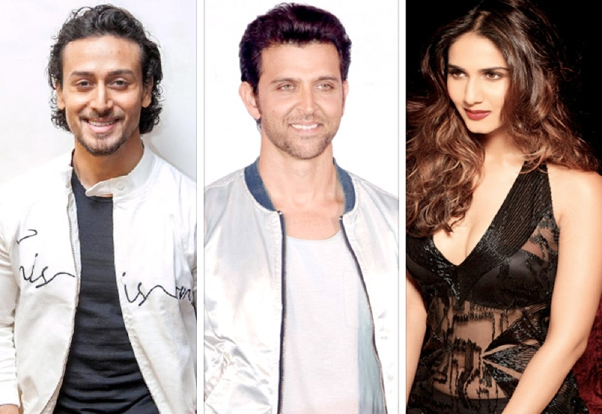 WOW! Tiger Shroff to start shooting for this film starring Hrithik Roshan and Vaani Kapoor