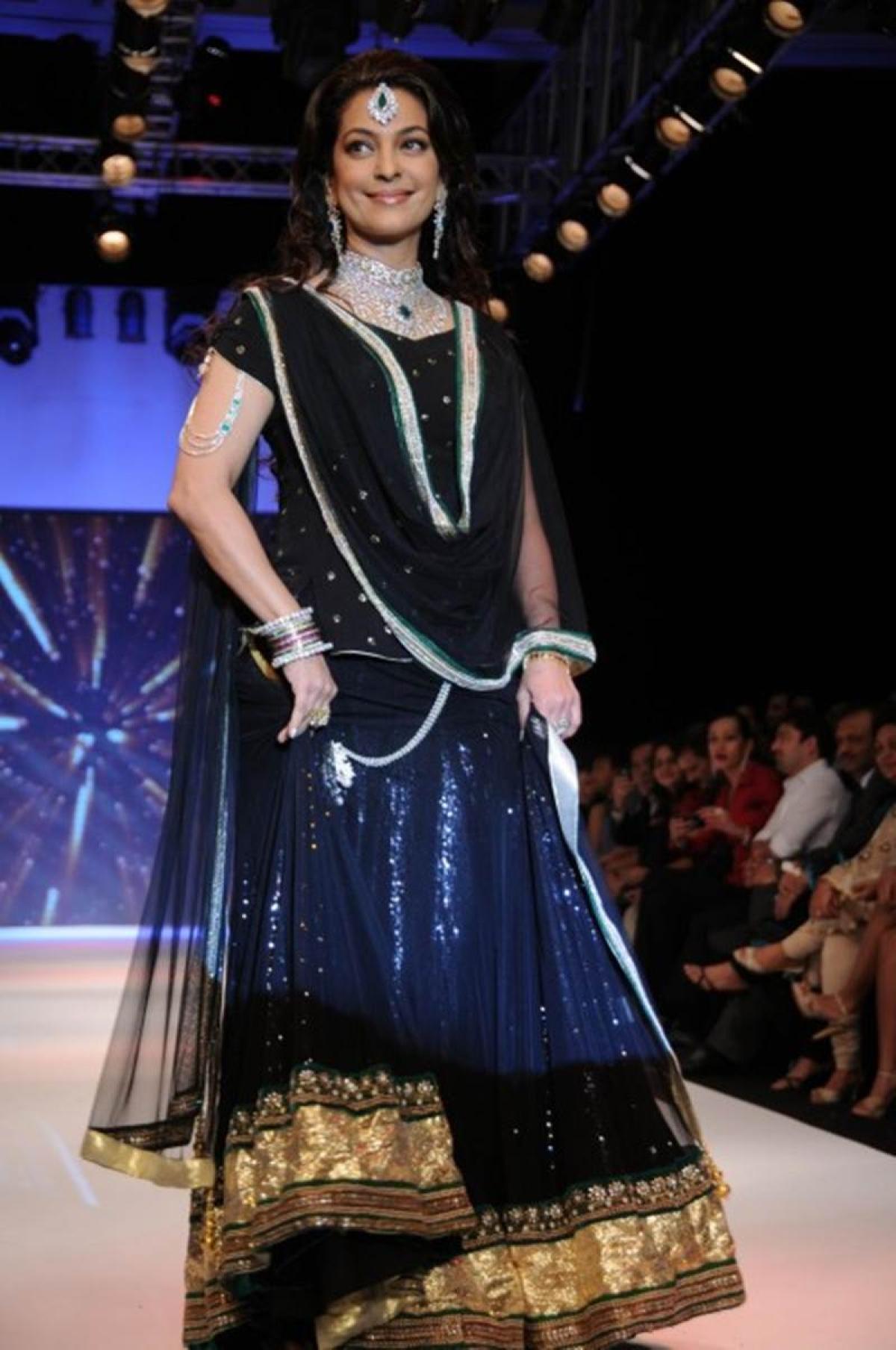 Celeb Fashion: Wear whatever makes you happy, says Juhi Chawla