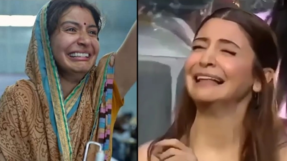'Sui Dhaaga': Anushka Sharma perfectly recreating her crying face on Indian Idol 10 will make you ROLF; Watch video