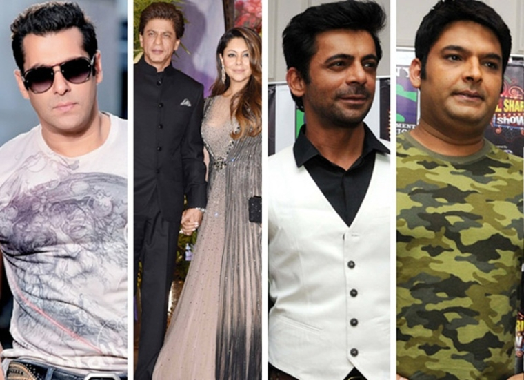 Salman Khan reveals some intresting information about popular jodies like SRK-Gauri, Sunil Grover-Kapil Sharma