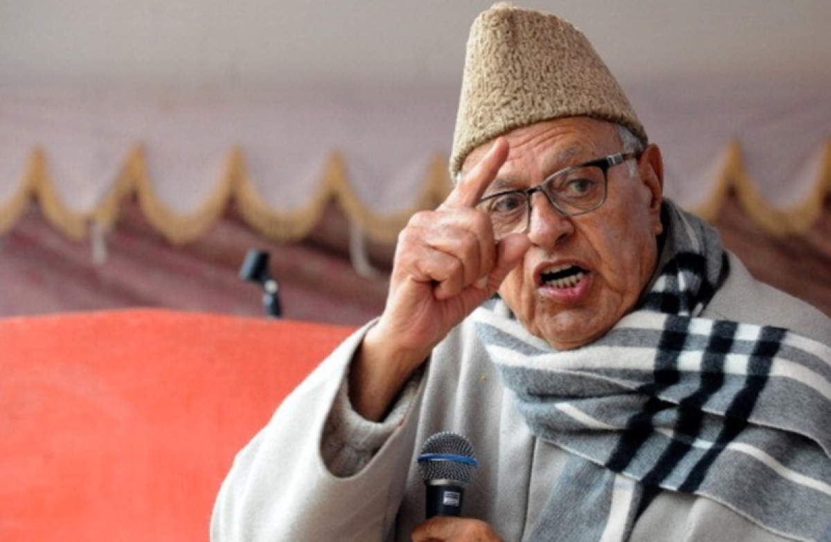 Farooq Abdullah alleges PM Modi is lying on Balakot air strike, shooting down of Pak F-16