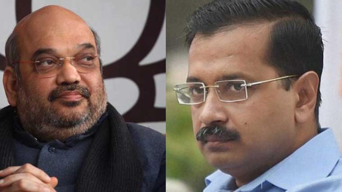 Arvind Kejriwal not adopting Ayushman Bharat scheme fearing Narendra Modi's popularity, says Amit Shah