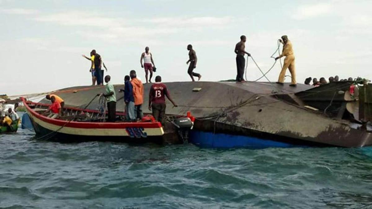 Over 126 die in Tanzania's Lake Victoria ferry mishap