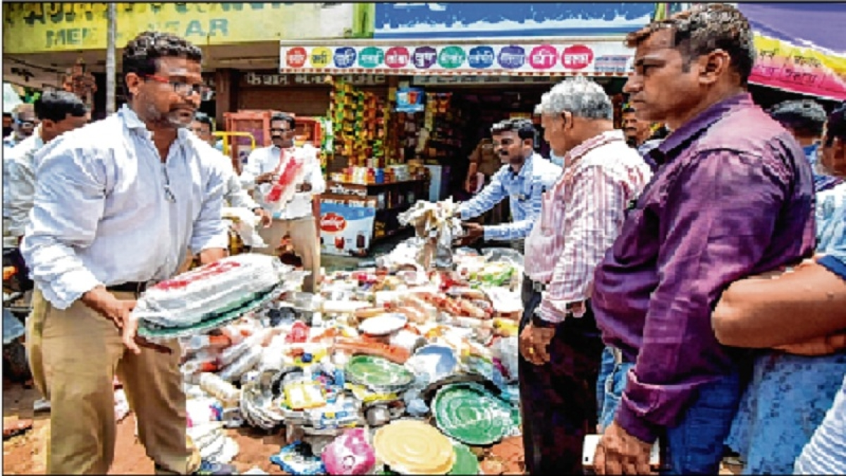 BMCWards to auction off seized plastic