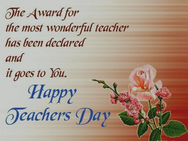 Teachers Day 2018: Wishes, greetings, images to share on SMS, WhatsApp, Facebook