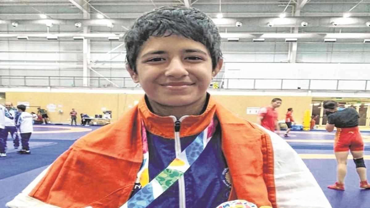 Simran gets silver shine