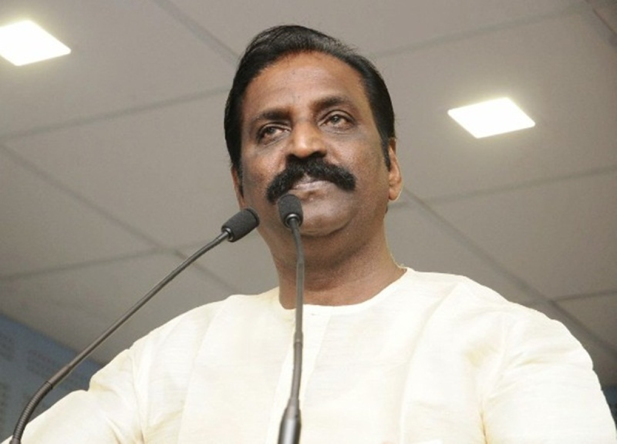 #MeToo: National award-winning lyricist Vairamuthu accused of forcibly hugging, kissing a girl