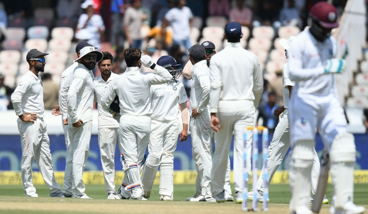 News Alerts! India vs West Indies 2nd Test Day 1: West Indies reach 295/7 at stumps