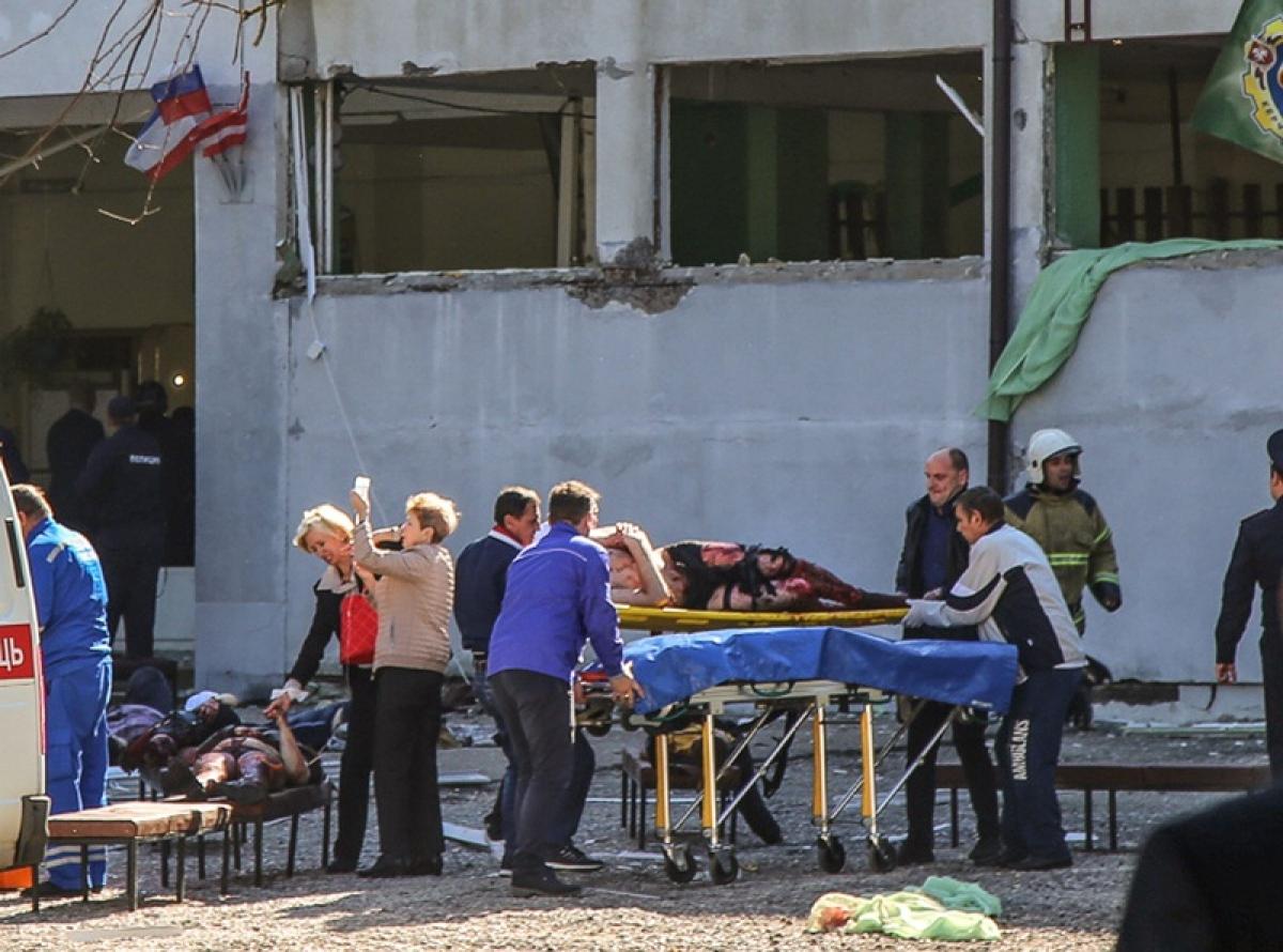 18 killed in Crimea college explosion