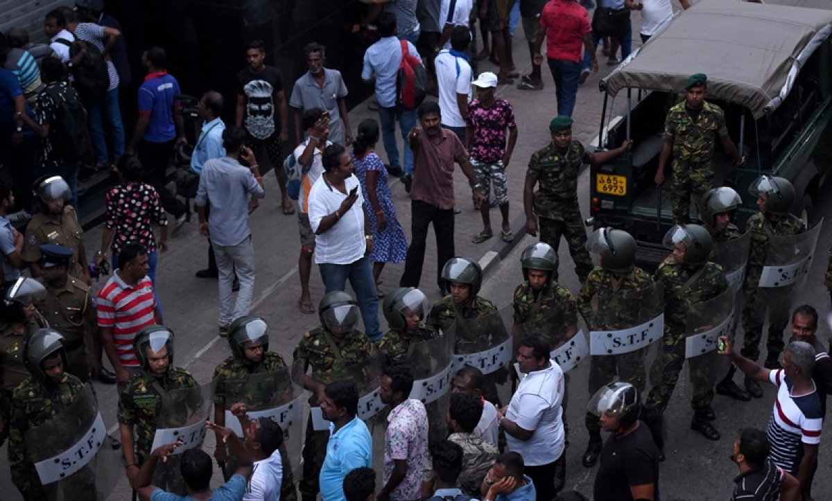 1 dead, two injured as shots fired in Sri Lanka amid political crisis