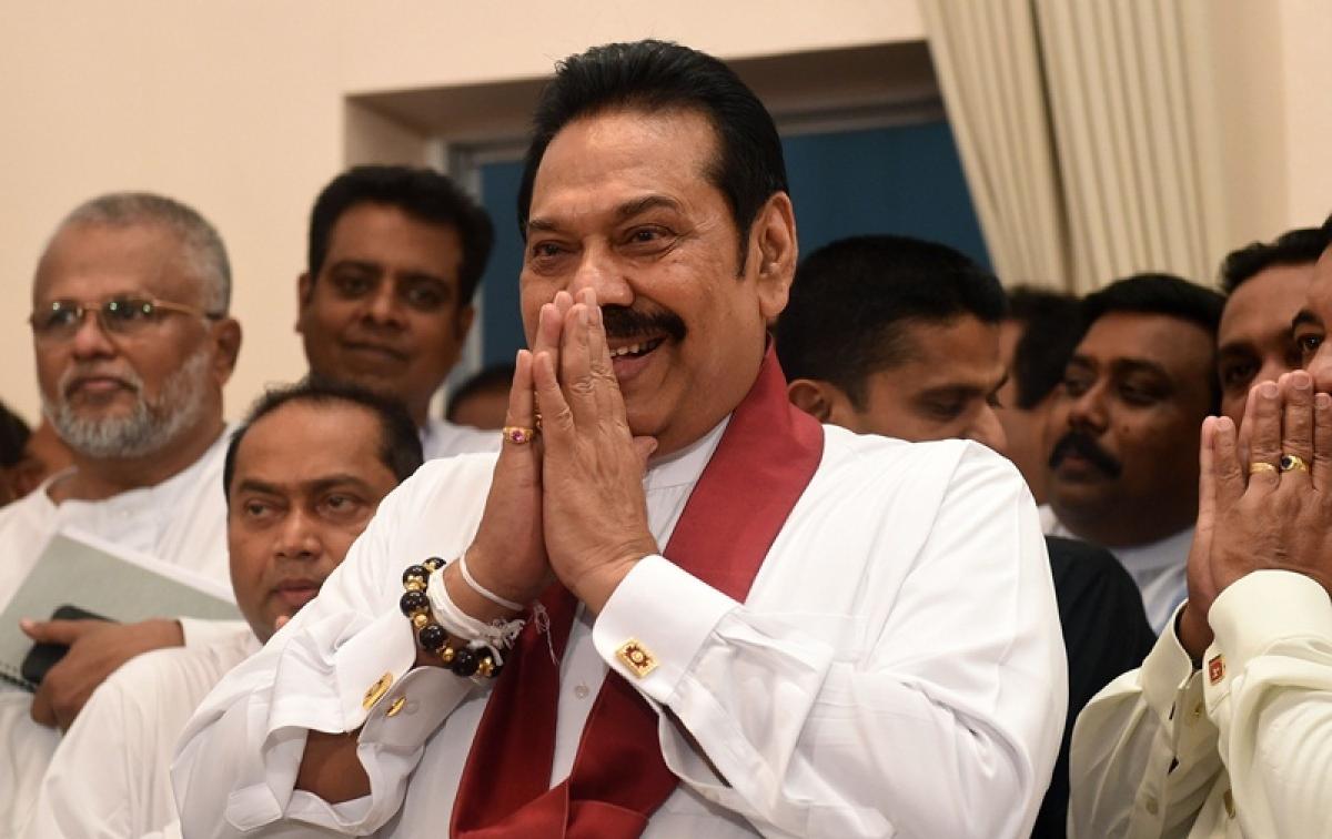 Mahinda Rajapaksa assumes charge as new Sri Lankan PM amid 'bloodbath' warnings by Speaker