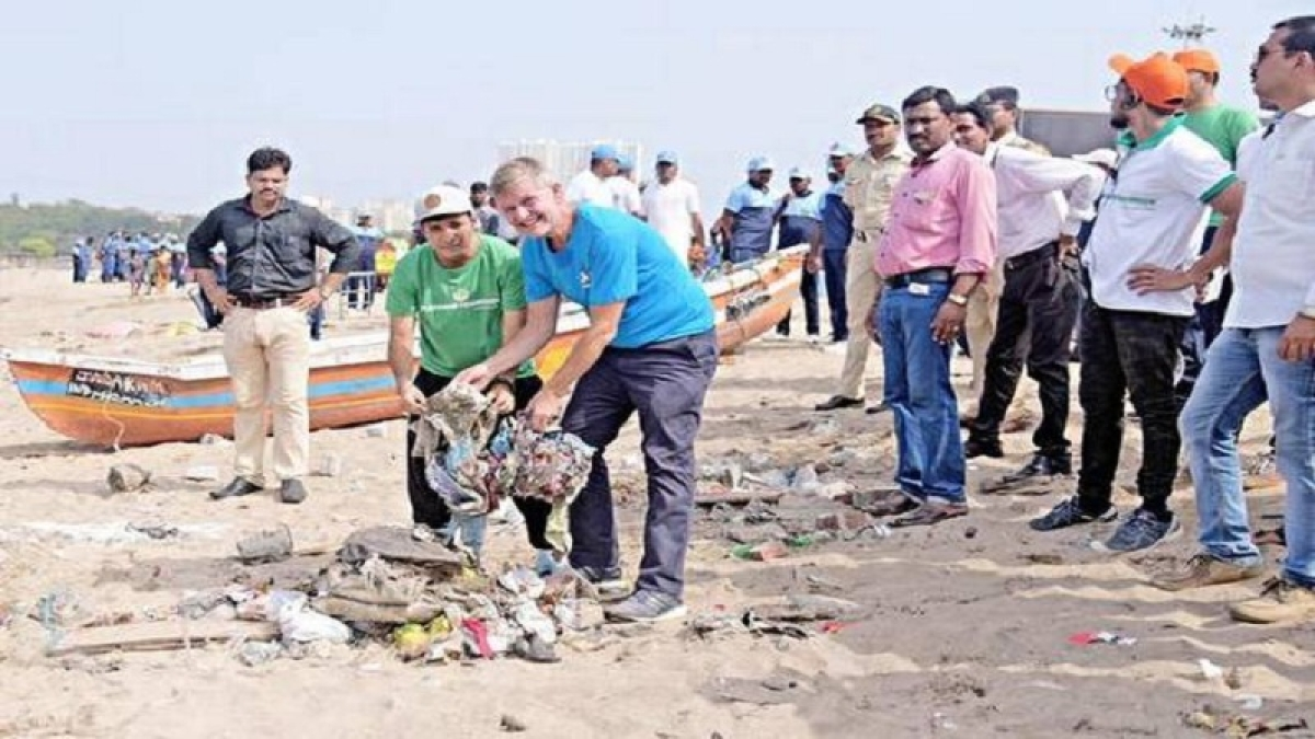 Mumbai: Beach Please collects 25 tonnes of garbage