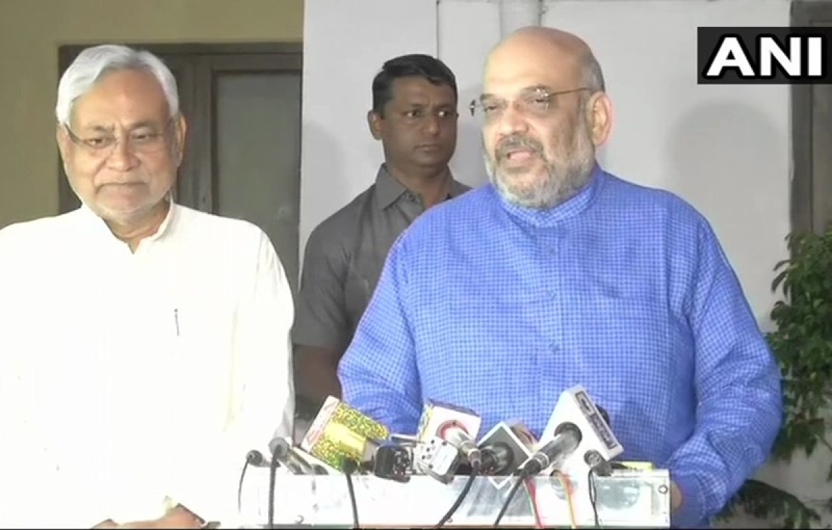 BJP, JDU to fight on equal number of seats for 2019 Lok Sabha elections in Bihar: Amit Shah