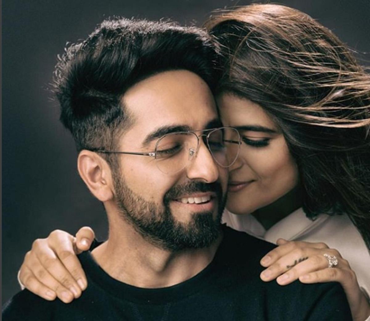 Badhaai Ho Ayushmann Khurrana and Tahira Kashyap for 10th wedding anniversary; see 'Andhadhun' actor's first marriage picture