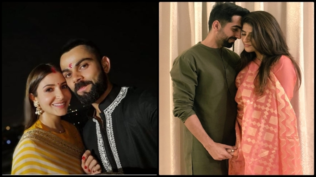Karwa Chauth 2018: Virat-Anushka to Ayushmann-Tahira, Bollywood celebs celebrate traditional moon night with love