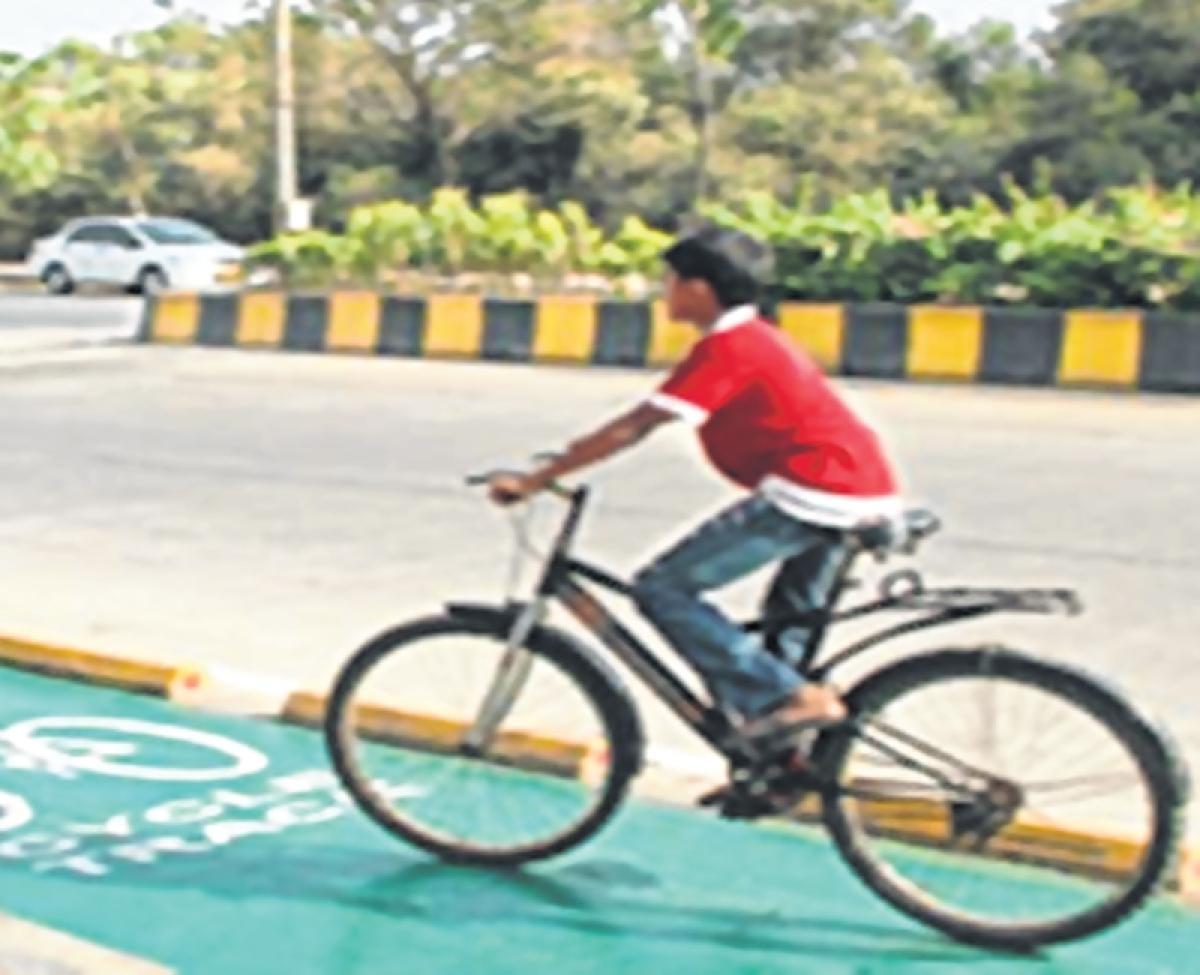 Mumbai: Work on bicycle track begins alongside Tansa