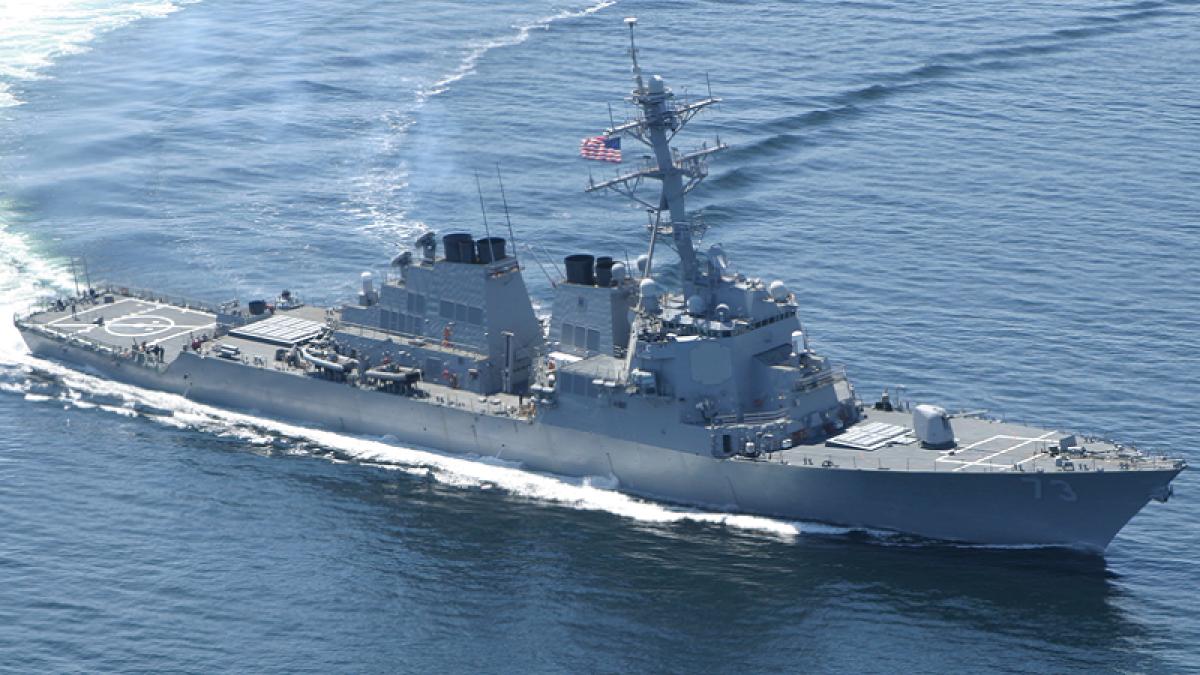 Chinese ship harasses US warship, allegesPentagon