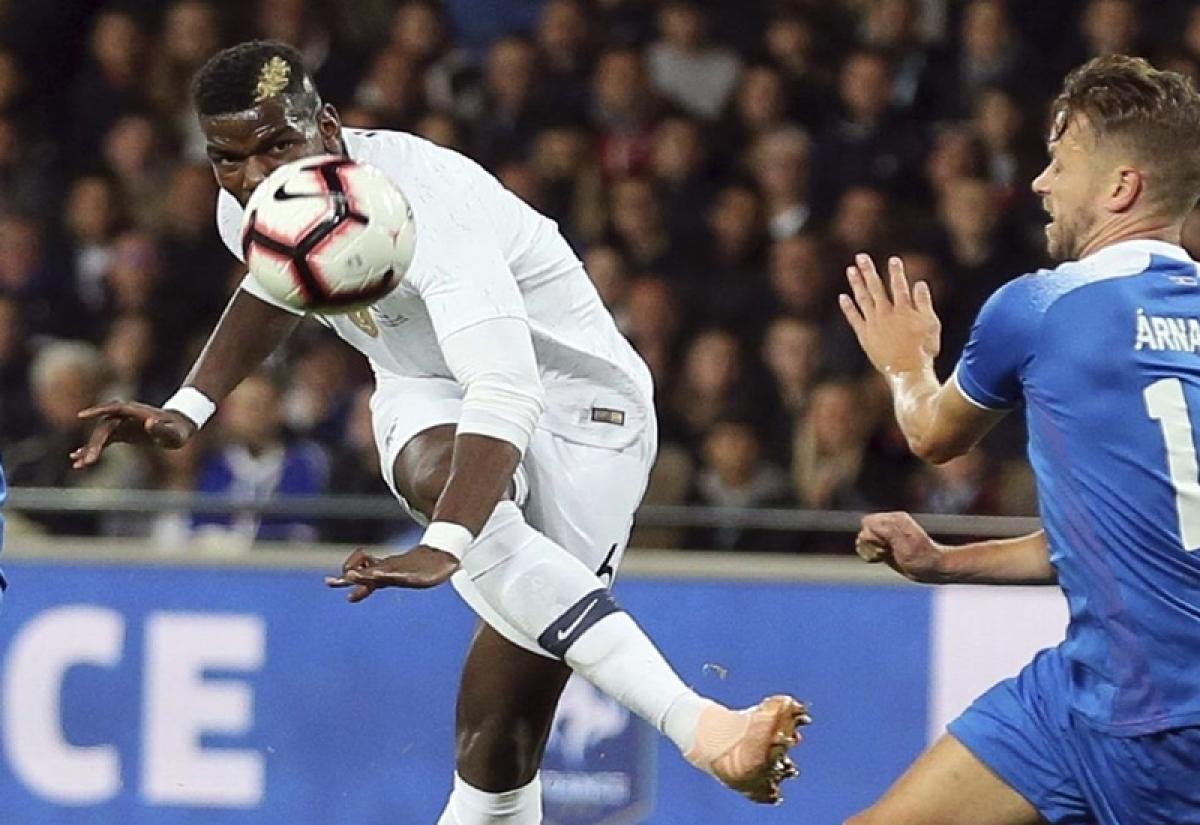 UEFA Nations League: Kylian Mbappe cameo helps France avoid defeat against Iceland