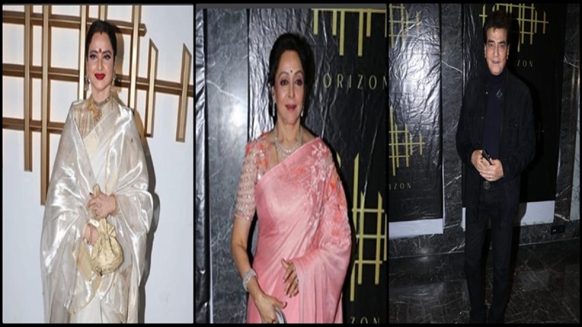 Hema Malini Birthday: Rekha and Jeetendra attend Dream Girl's 70th birthday celebration; see pics
