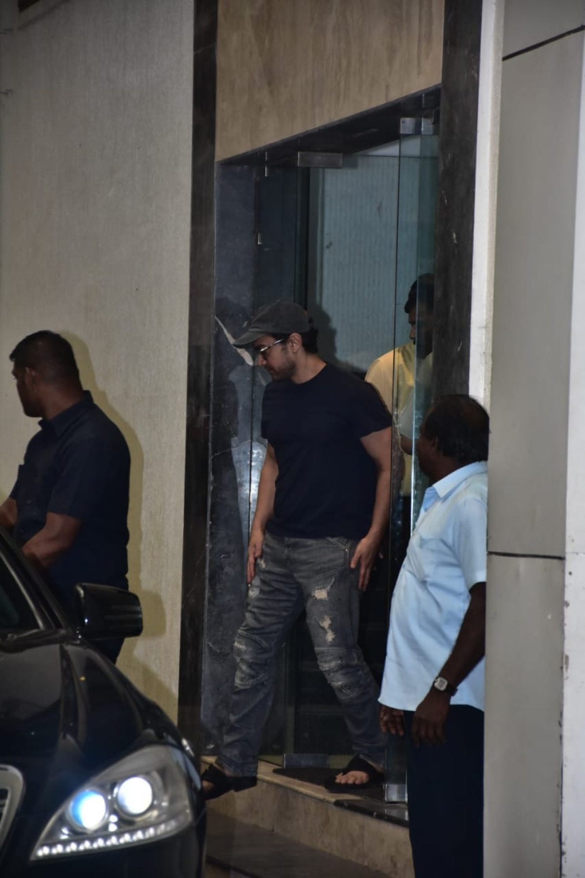 Aamir Khan and Kiran Rao attend meeting at Producers Guild for safer working culture (photo by Viral Bhayani)
