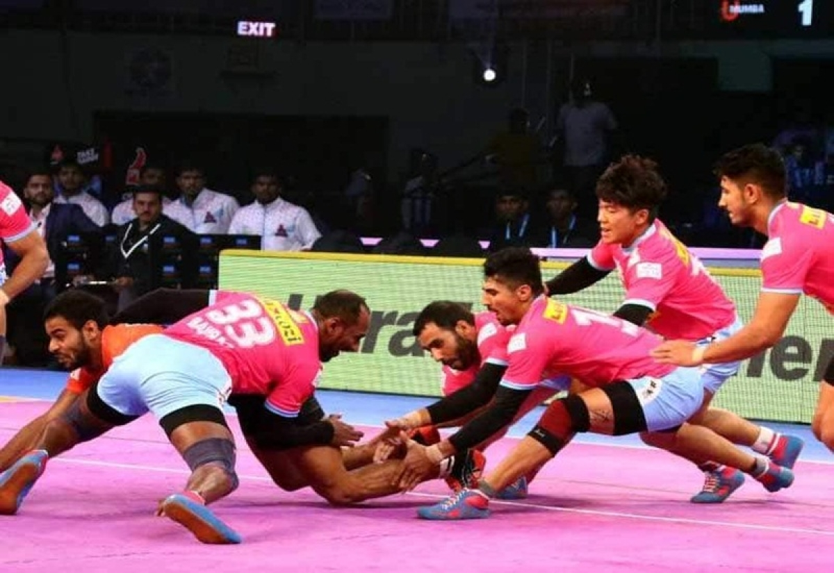 Pro Kabaddi League: Jaipur Pink Panthers beat Haryana Steelers