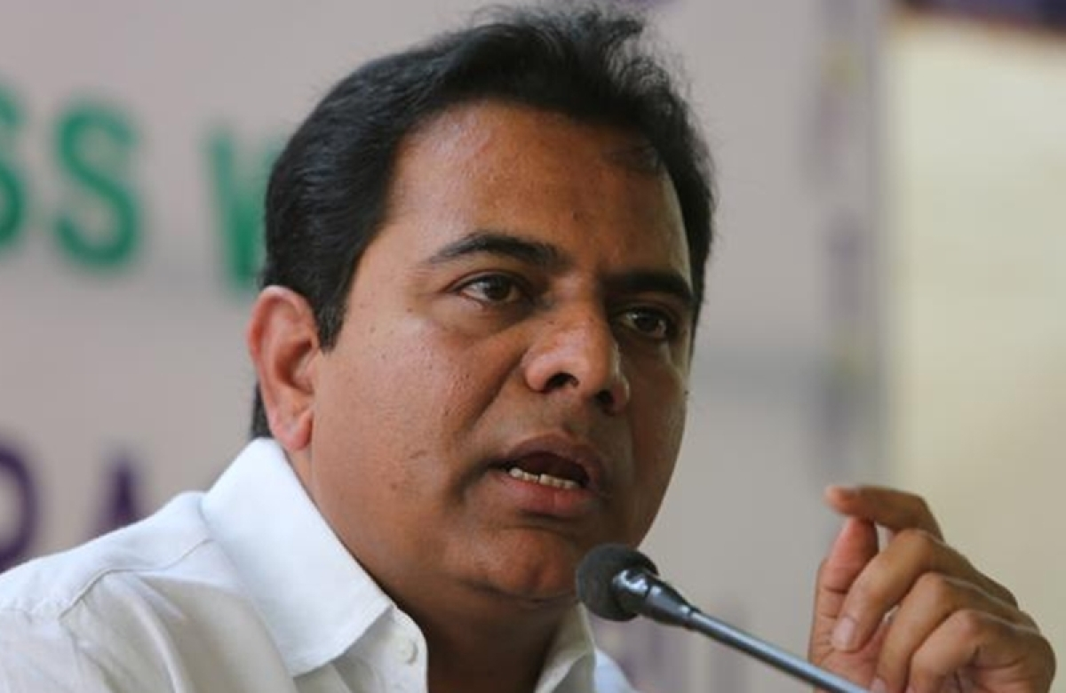 N. Chandrababu Naidu's doubts on EVMs out of fear of defeat: KT Rama Rao