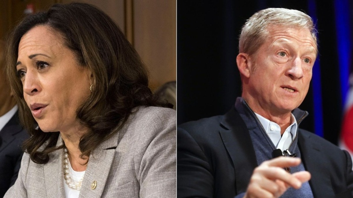 Suspicious packages addressed to Kamala Harris, Tom Steyer recovered: FBI