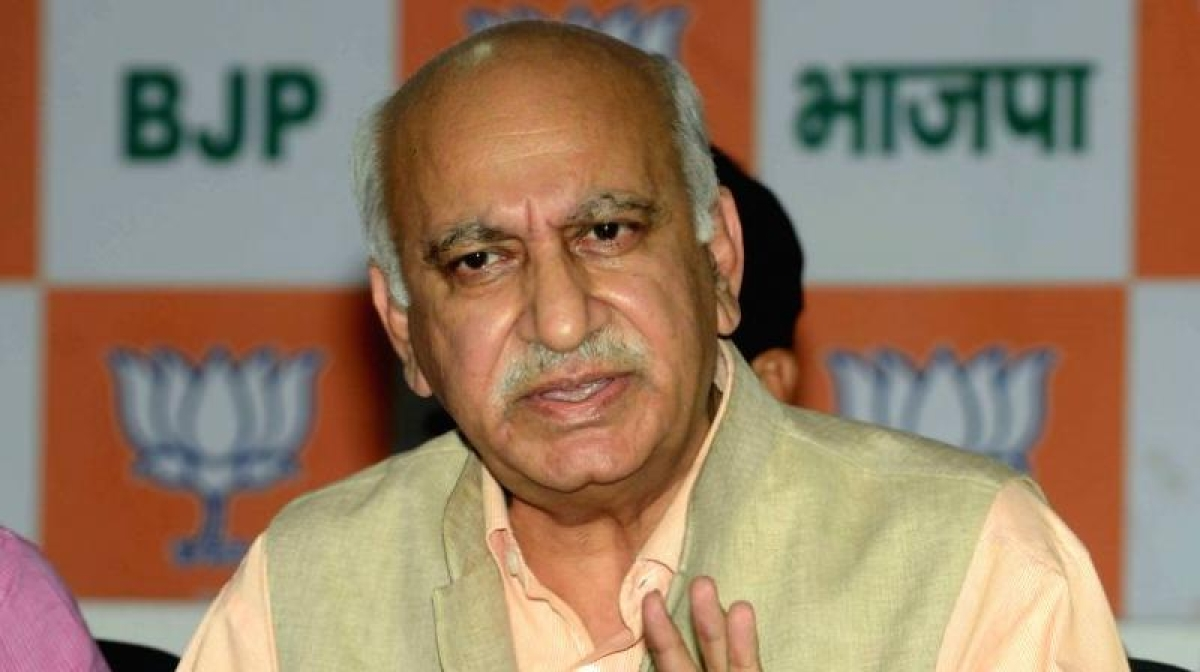 Breaking! MJ Akbar resigns from his post of Minister of State External Affairs MEA