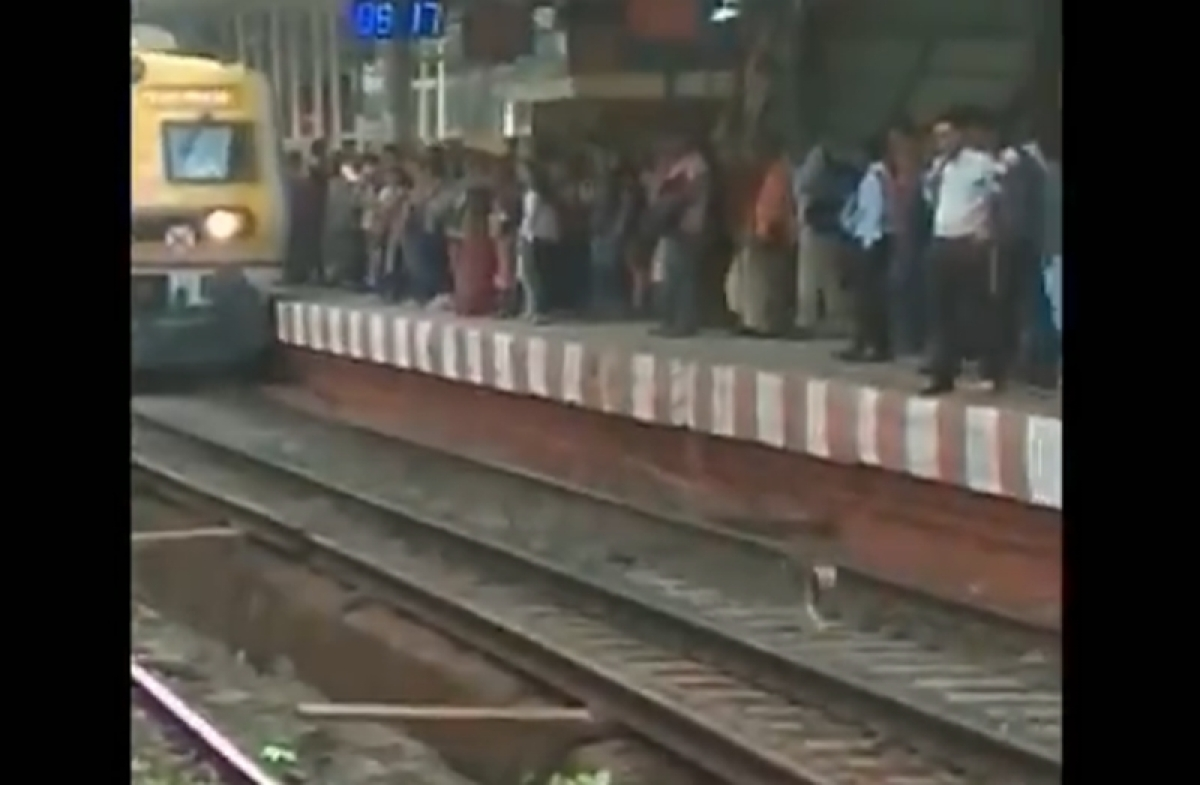 Mumbai: Motorman saves dog's life by slowing down train speed, internet is lauding his gesture