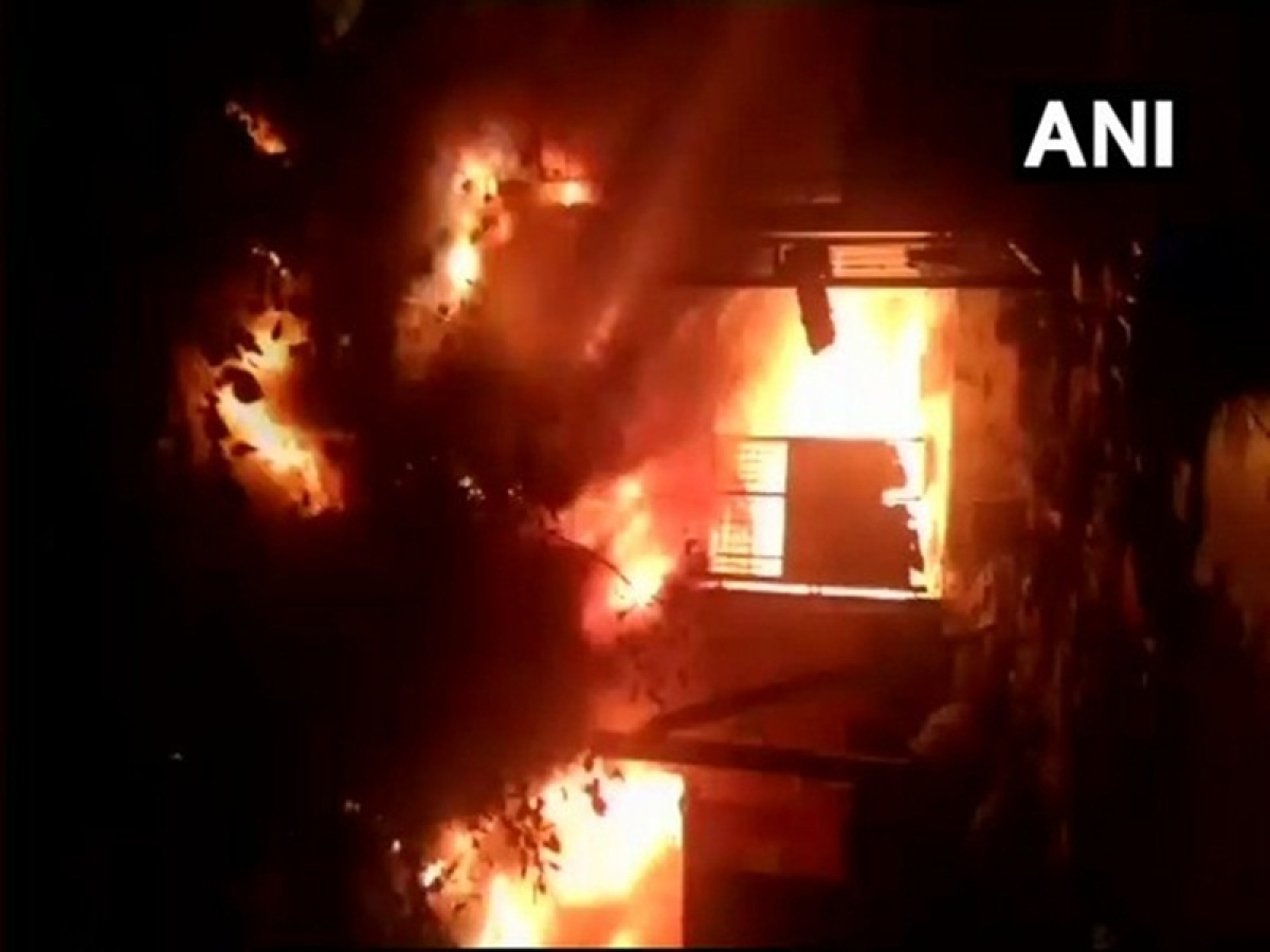 Thane: Fire breaks out at MSEDCL power house in Savarkar Nagar