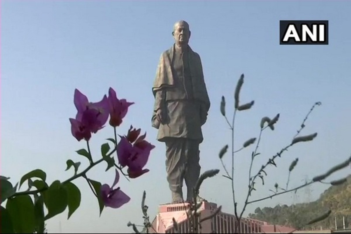 Gujarat: Security beefed up ahead of Statue of Unity's inauguration today
