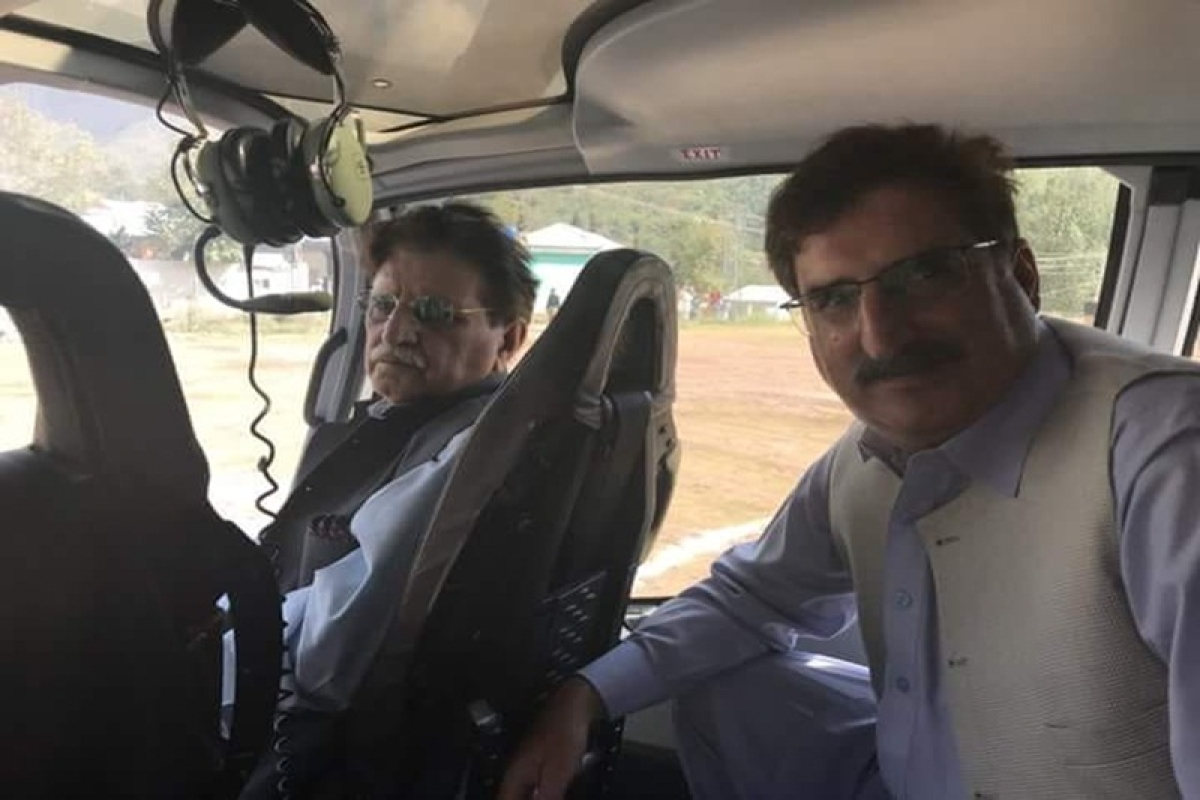 Pakistani helicopter that violated Indian airspace in Poonch was carrying PoK 'prime minister', say reports