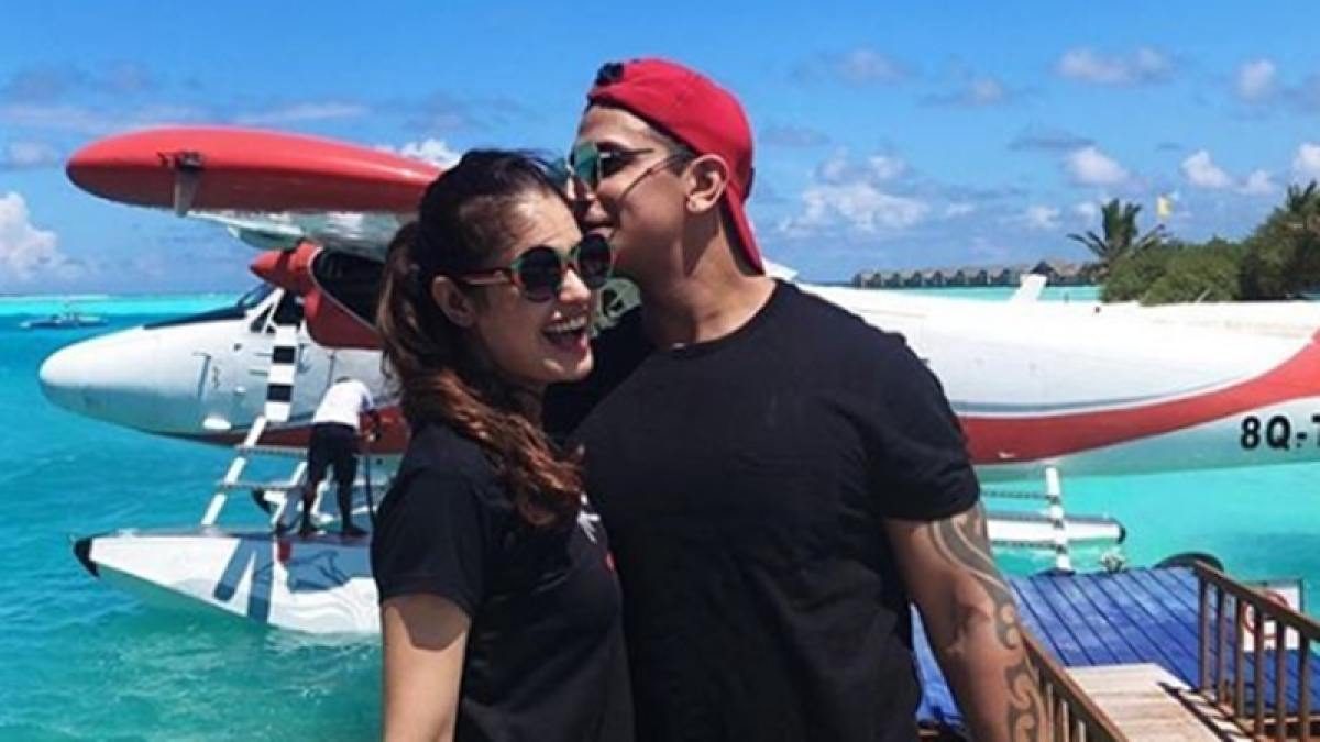 Love in Maldives! Check out Prince Narula, Yuvika Chaudhary's exotic honeymoon pictures
