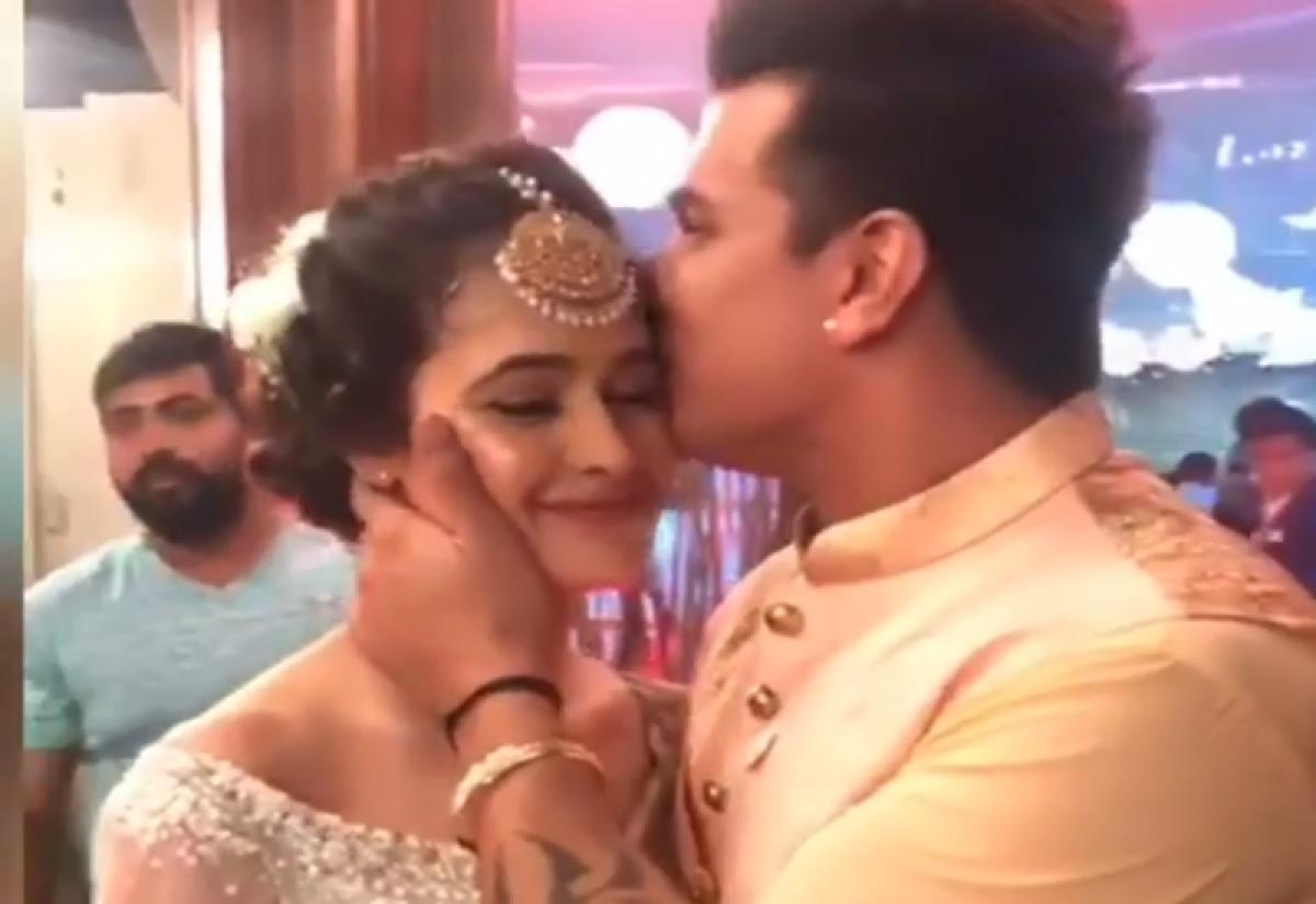 PriVika Sangeet Ceremony: Yuvika Chaudhary, Prince Narula celebrate their love; see inside pics and videos