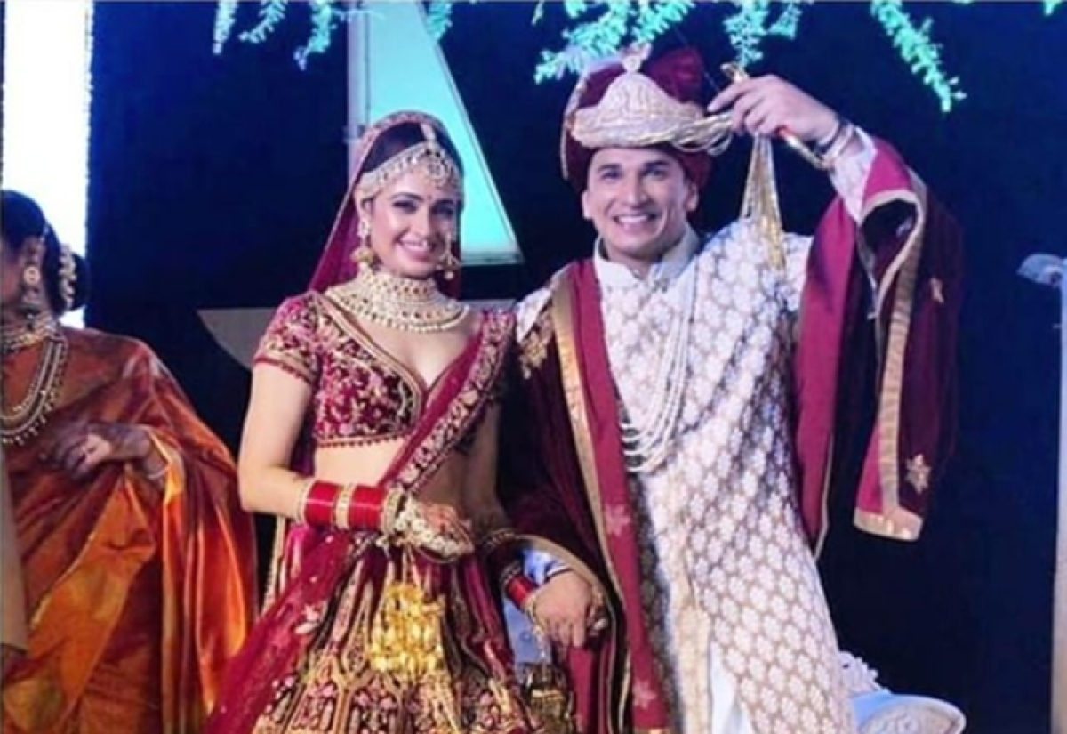 PriVika Wedding Pics! Prince Narula, Yuvika Chaudhary get hitched in a splendid galore