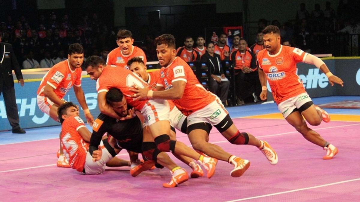 Pro Kabaddi league 2018: Puneri Paltan beat Haryana Steelers 34-22