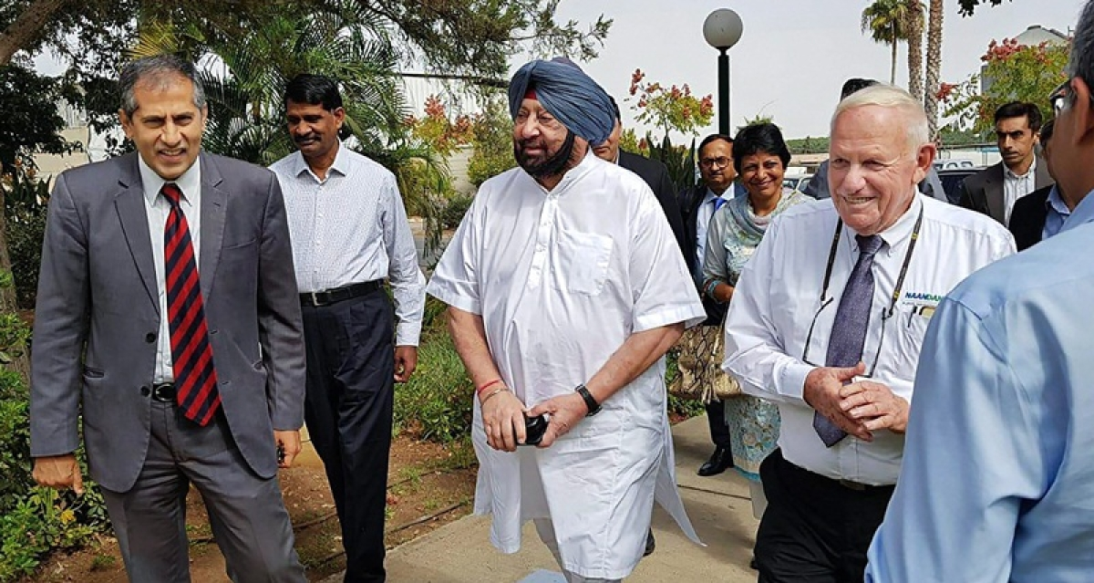 Punjab can use Israeli tech to solve issues of farmers, water conservation: CM Amarinder Singh