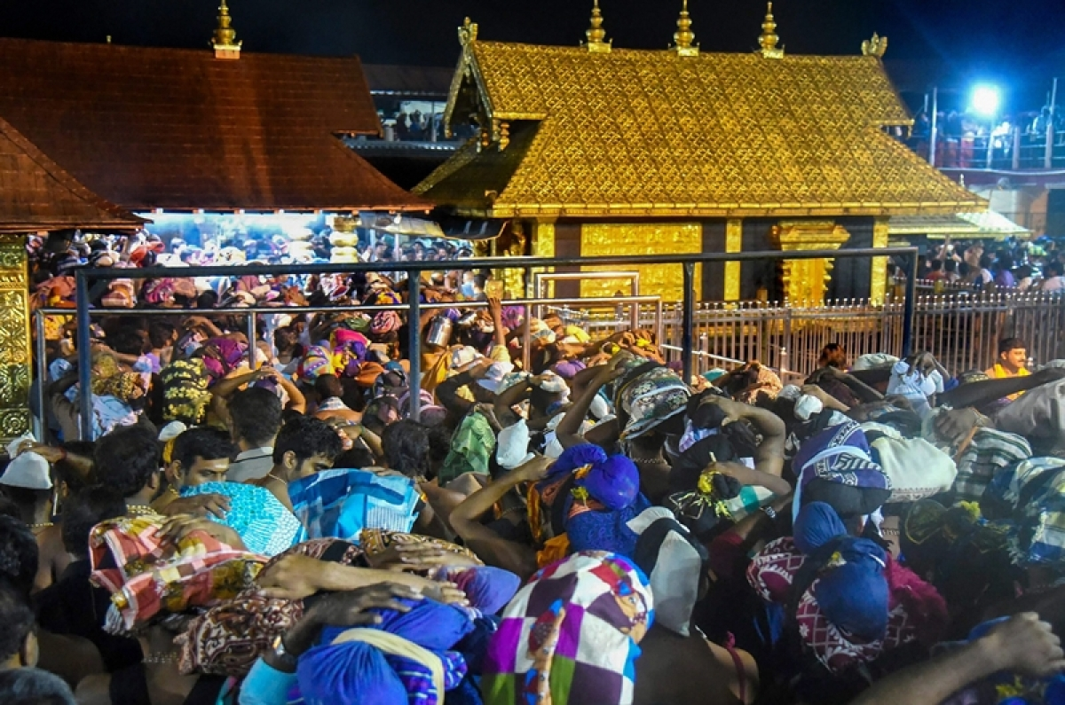 Sabarimala unable to handle big jump in offerings by devotees