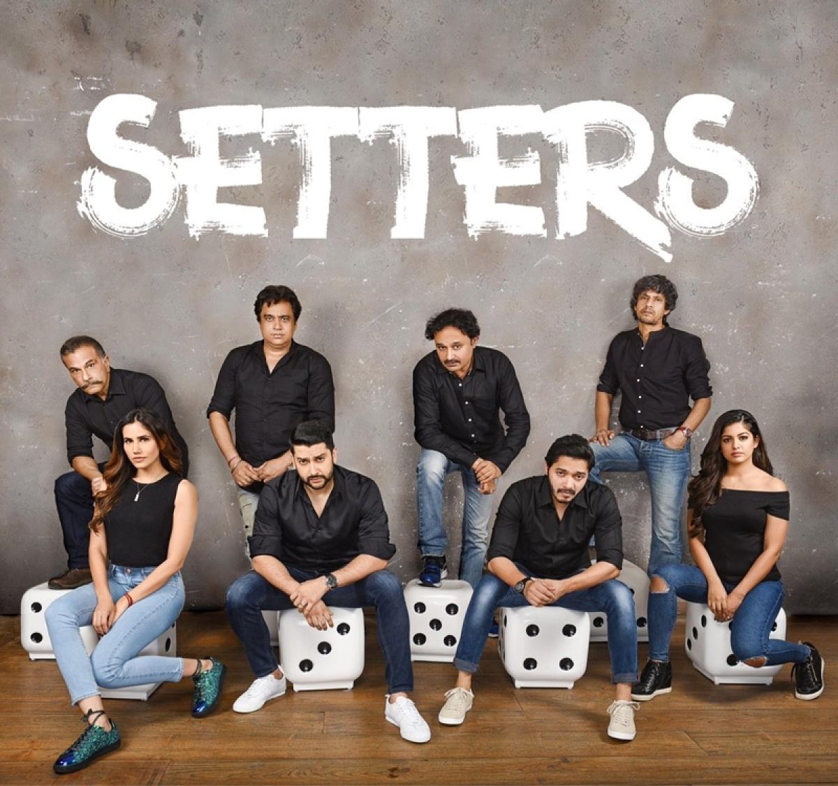 'Setters' First Look! Shreyas Talpade, Aftab Shivdasani, Ishita Dutta, Sonnalli Seygall in black and dicey avatars